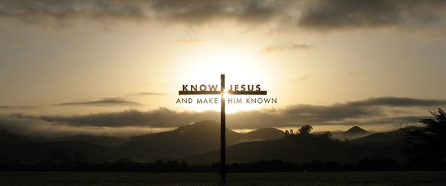 Knowing you, Jesus