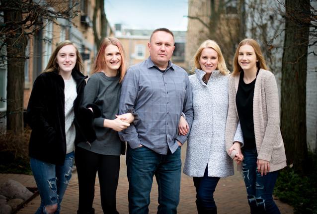 on location family portrait