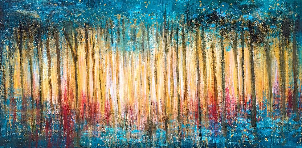Morning Birch Trees