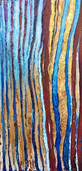 Blue Color Stream