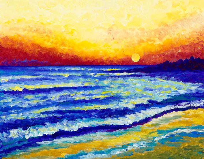 Dewey Beach Sunset