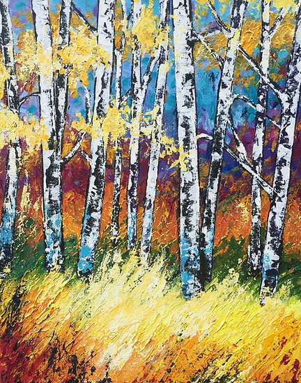 Colorful Birch