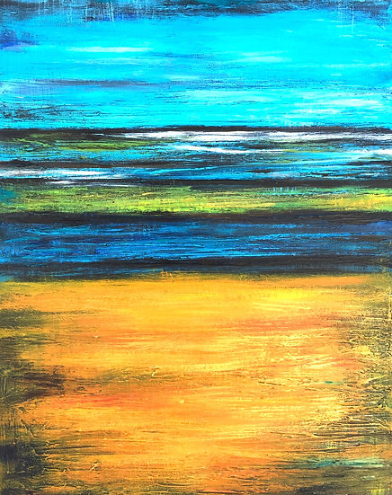 Blue and Gold Horizon