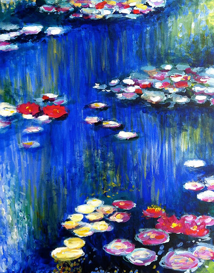 Monet Water Lillys