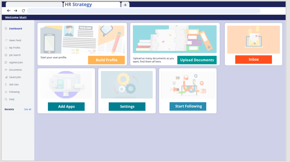 Create a Profile Page