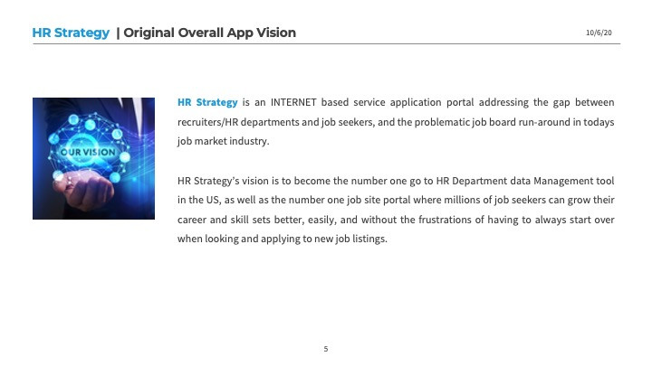 HR Strategy Vision