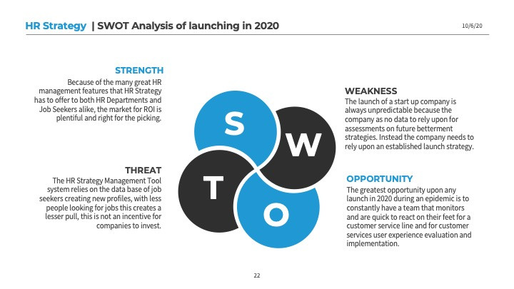 Risk Analysis SWOT Summary