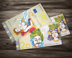 20 Euro Currency Concept
