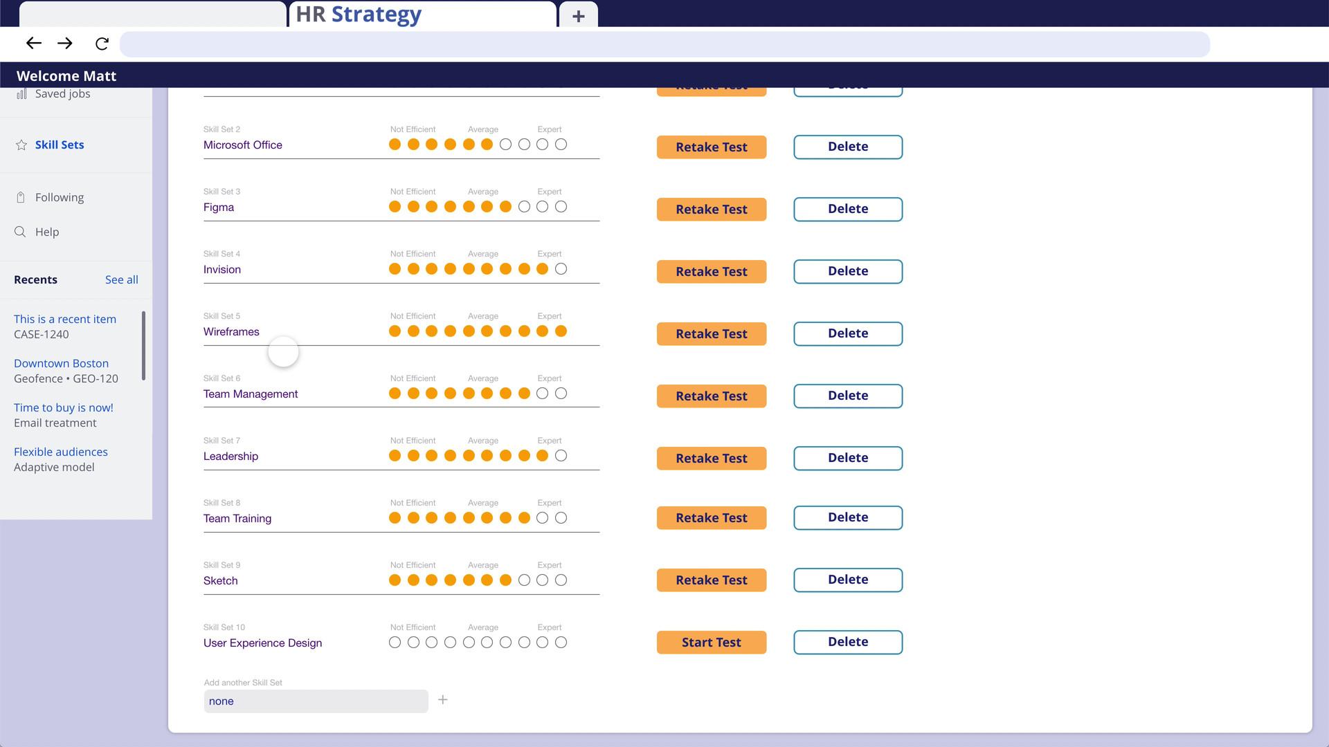 Profile Star Ranking System - HR Strateg