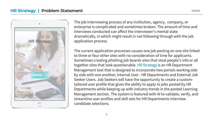 HR Strategy Problem Statement