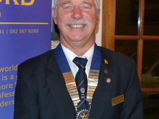 New Rotary Year - New Rotary President