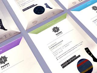 Pandala Socks Packaging