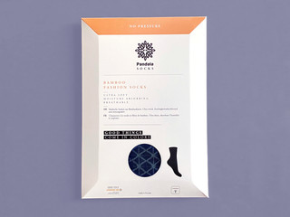 Pandala Socks Packaging