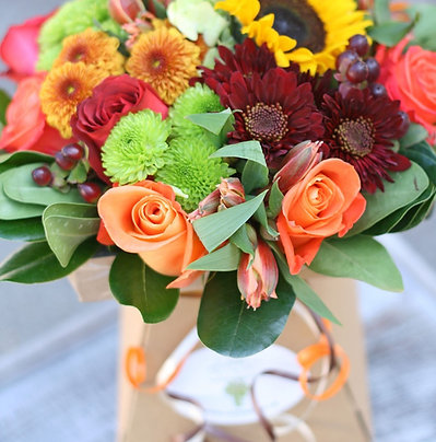 October 8th, 2021-Thanksgiving Friday Flowers!