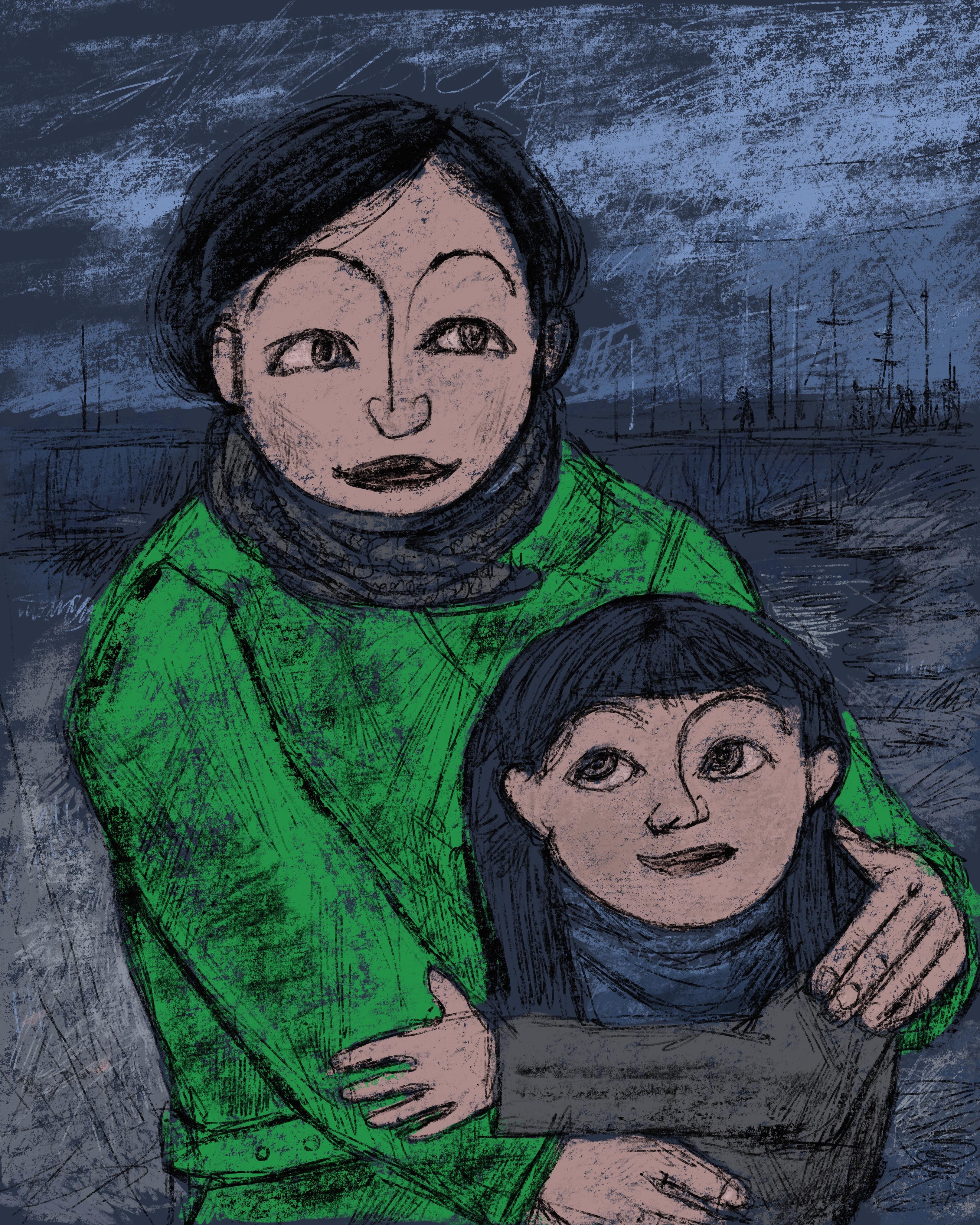 """""""Mutter und Tochter"""""""