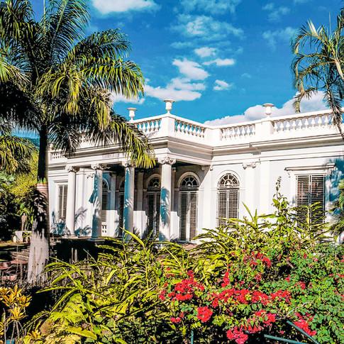 jardin du musée de villèle