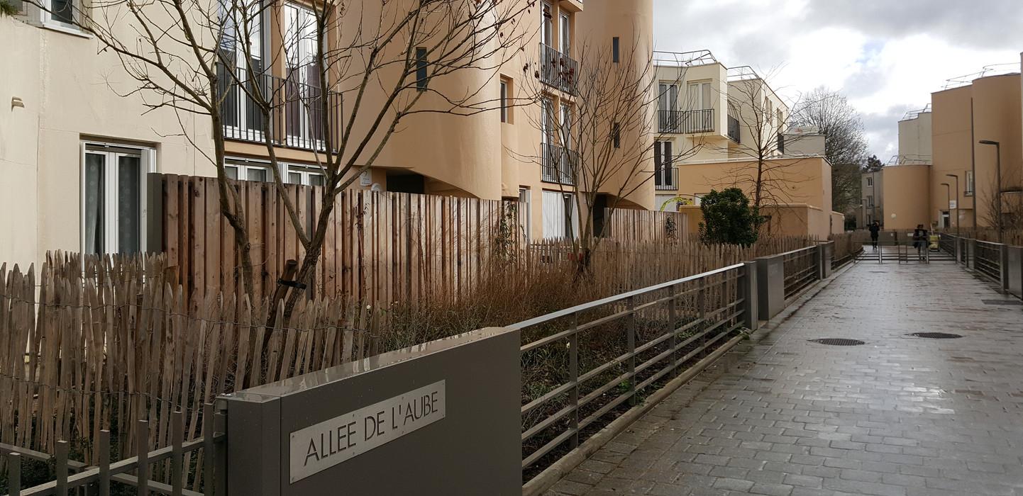 Allée de l'Aube et de la rue de l'Oise