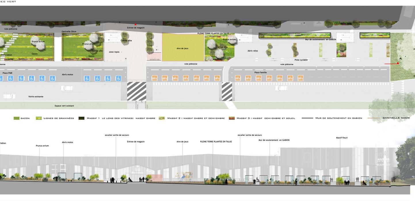 Extension du centre commercial de Carrefour Cesson - Sévigné