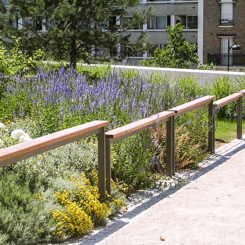 Jardin Cyprian Norwid (ilot M8)