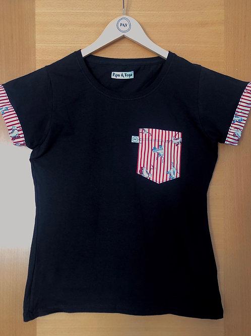 Camiseta Patines