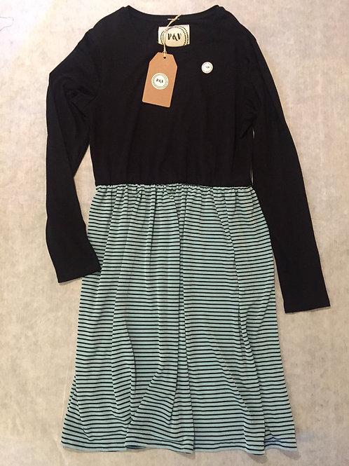 Dress Stripes Turquoise / Vestido Rayas Turquesa