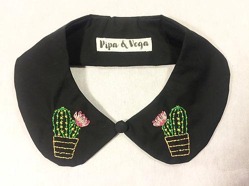 Cuello Peter Pan Cactus