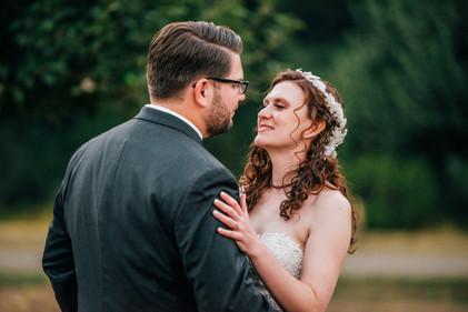 Mendocino County California Wedding | Redwood Wooded Wedding | Pronovia Bridal | Lace Wedding Dress | Destination Wedding Photographers | Seattle Wedding Photographers | Leggett California | Outdoor Summer Weddings