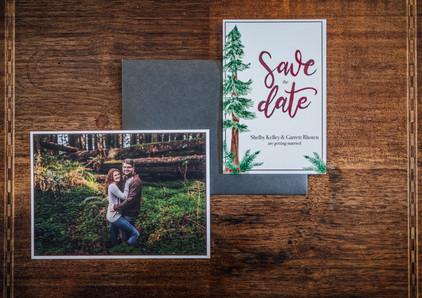 Mendocino County California Wedding | Redwood Wooded Wedding | Pronovia Bridal | Lace Wedding Dress | Destination Wedding Photographers | Seattle Wedding Photographers | Save the Dates | Wedding Invites