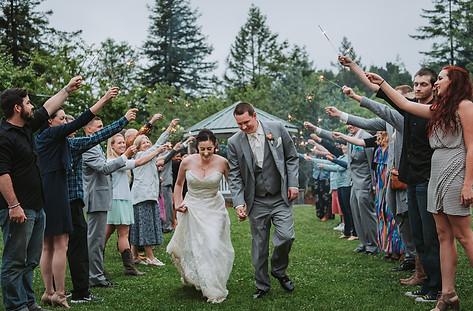 Engagement Wedding Photographer Seattle   Seattle Tacoma Bride   Pacific Northwest Wedding   Tacoma Destination Wedding   PNW Venues   Wedding Dress   Whimsical Wedding   Mitchell Grove   Destination Wedding Washington   Sparkler Exit   Lace Wedding Dress   Redwood Wedding