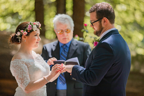Avenue of the Giants | Romantic Washington Wedding | David's Bridal | Lace Wedding Dress | Vintage Wedding | Seattles Best Wedding Photographer | The Pink Lady | Destination Wedding | Old Town Eureka California | Flower Crown | Dove Tattoo | Founders Grove