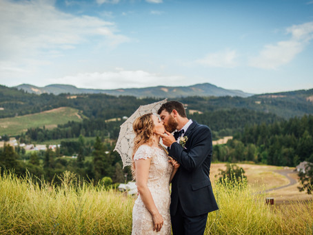 Kaitlyn & Jacob | Wedding | Hood River | Oregon