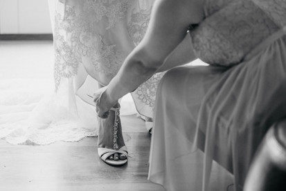 Lake Wilderness Lodge | Maple Valley | Wedding Shoes | Seattles Best Wedding Photographer
