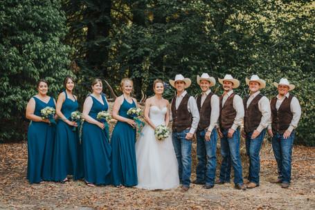 Rein Fire Ranch | Ravensdale Washington | Country Wedding