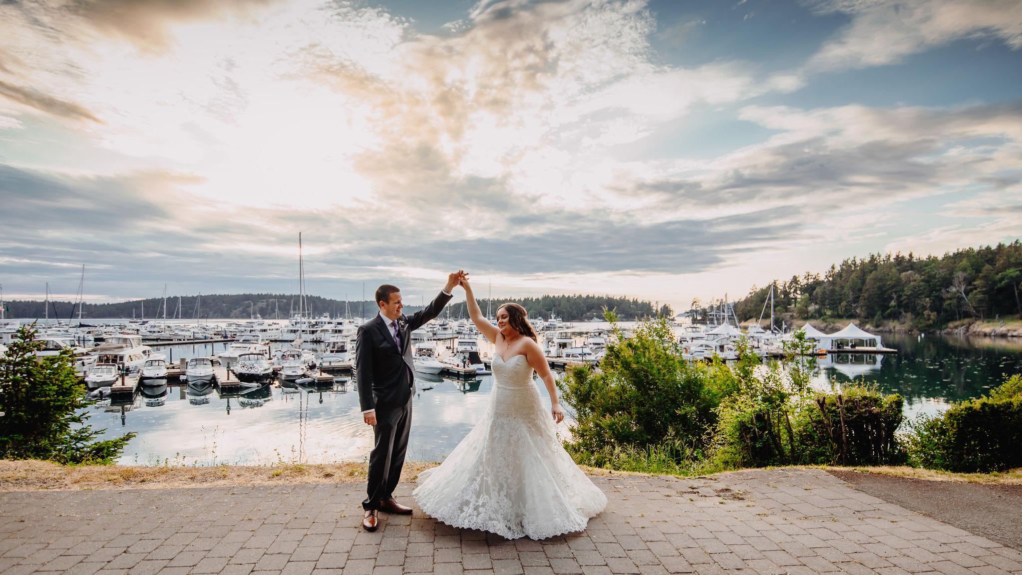 San Juan Islands Wedding Washington Friday Harbor Seattle