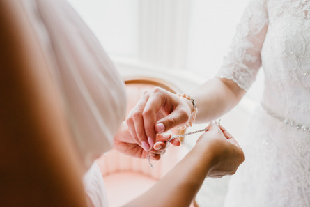 Romantic Washington Wedding | David's Bridal | Lace Wedding Dress | Vintage Wedding | Seattles Best Wedding Photographer | The Pink Lady | Destination Wedding | Old Town Eureka California | Flower Crown | Dove Tattoo | Wedding Pearls
