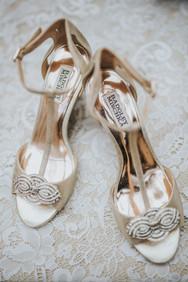 Badgley Mischka Wedding Shoes   The Edgewater House   Olalla Wedding Washington   Seattles Best Wedding Photographers   Washington Wedding Venues