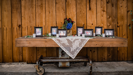 Honoring Loved ones at your wedding   Reserving a seat   Place of Honor   Remembering those whove passed   Respecting the dead   dia de los muertos   Custom cufflinks   Something old   Grandma's pearls   Dad's wedding ring   Wedding Bouquet   DIY Wedding Traditions   Humboldt Bay Social Club   Eureka California