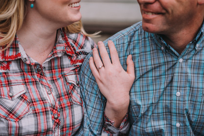 Country Engagement Photo Shoot | Outdoor Engagement Session | Cowgirl Cowboy | Tractor | Seattles Best Wedding Photographer | Couples Posing | Hood River Photographer | Oregon Bride | Country Wedding | We're Engaged | Fall Photo Shoot | Engagement Announcements