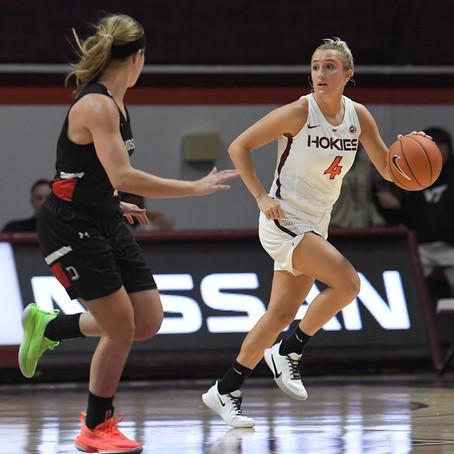 Virginia Tech Women's Basketball Defeats Davidson 88-68