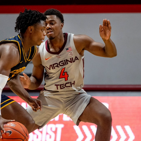 Virginia Tech Blows Out Coppin State 97-57