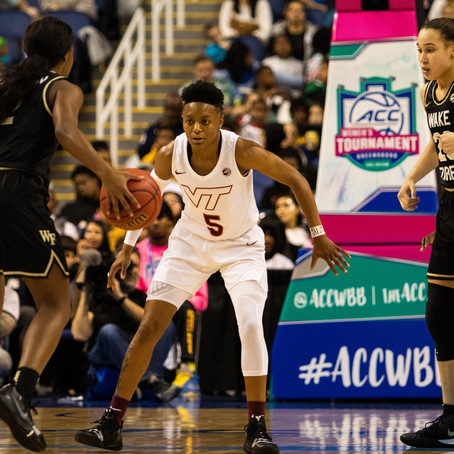 Virginia Tech Falls 58-55 in the Second Round of the ACC Tournament