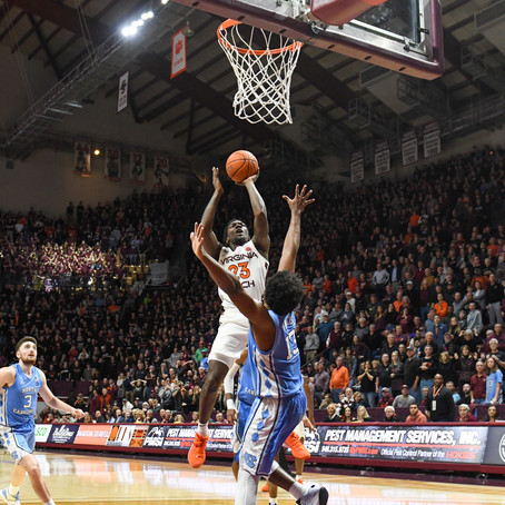 Virginia Tech Bounces Back Against North Carolina in Cassell