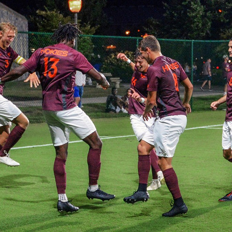 No. 17 Virginia Tech Men's Soccer Defeats Grand Canyon 4-0