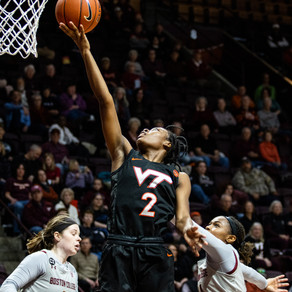 Sparked by Defense, Virginia Tech Defeats Boston College 70-49