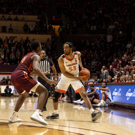 Hokies' Second Half Comeback Falls Short Against Virginia