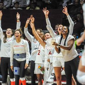 Virginia Tech Women's Basketball Runs by Saint Francis 105-41