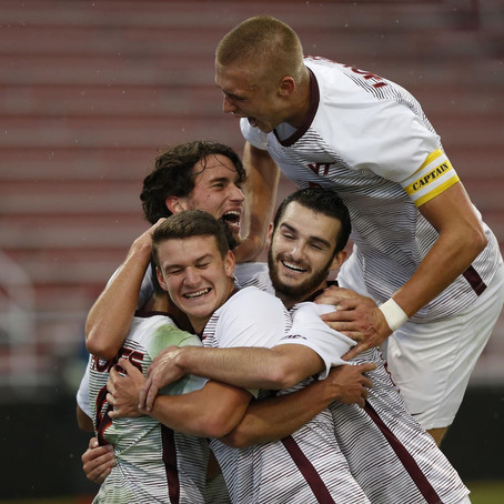 Virginia Tech Men's Soccer Wins 2-0 at Louisville