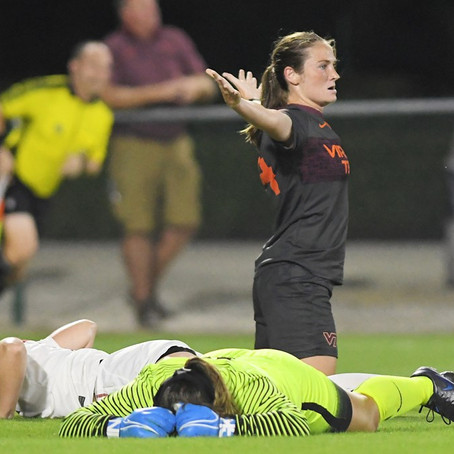 No. 23 Virginia Tech Women's Soccer Stays Undefeated With 2-0 Win Over Alabama