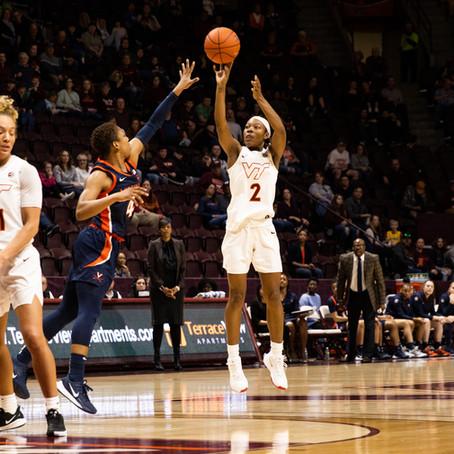 Cavaliers Spoil Virginia Tech's Senior Night