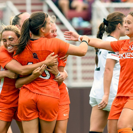 No. 25 Virginia Tech Women's Soccer defeats Cincinnati 2-0